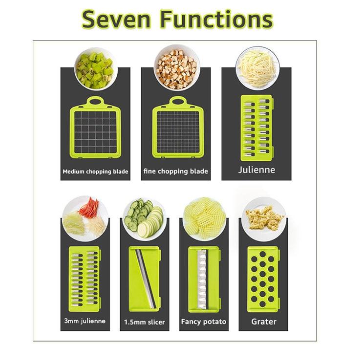 Kitchen Vegetable Mandoline Slicer
