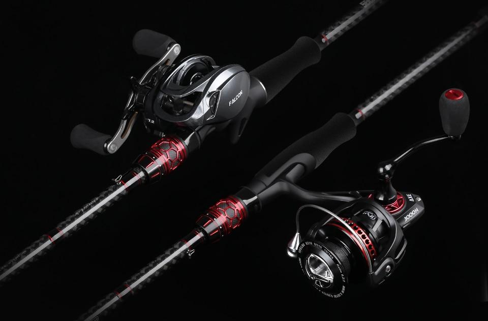 X-Shaped Carbon Fiber Fishing Rod
