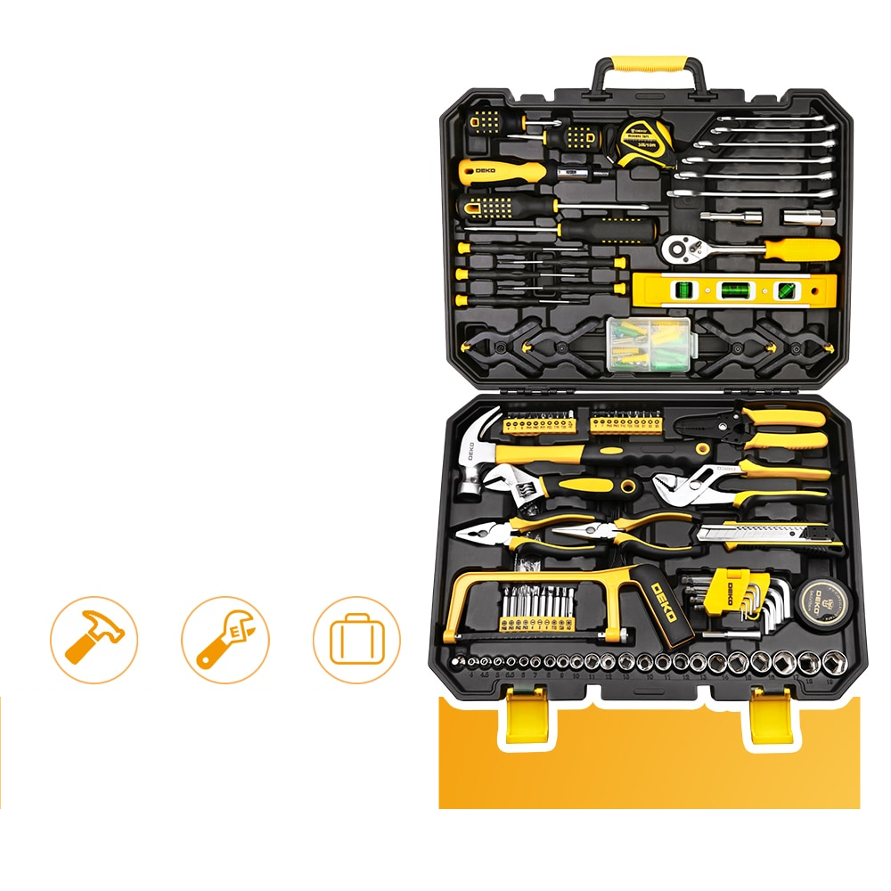 Household Tools Set with Box