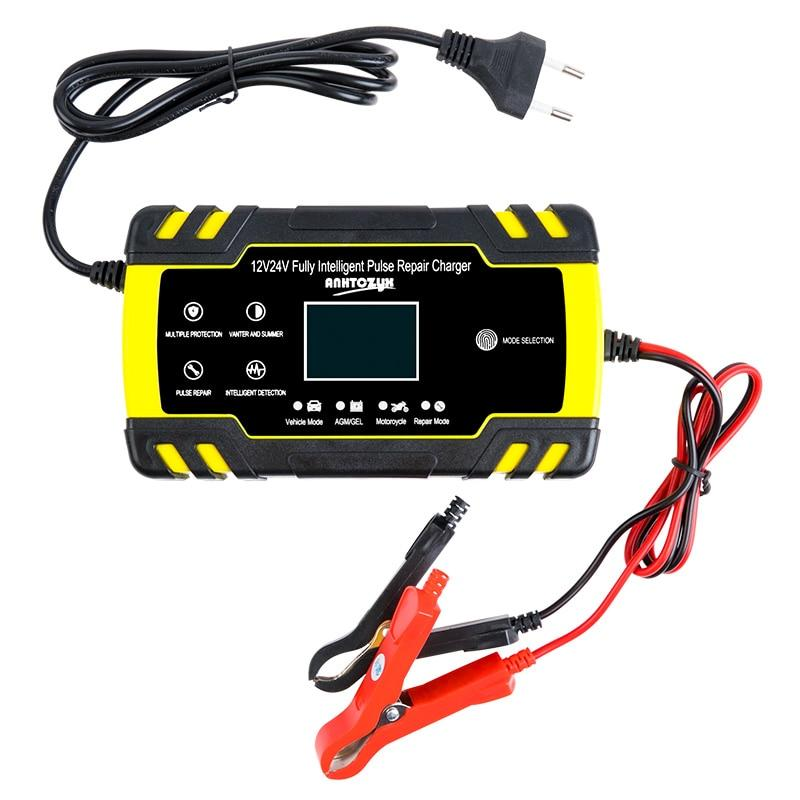 Universal Car Battery Charger with Pulse Repair