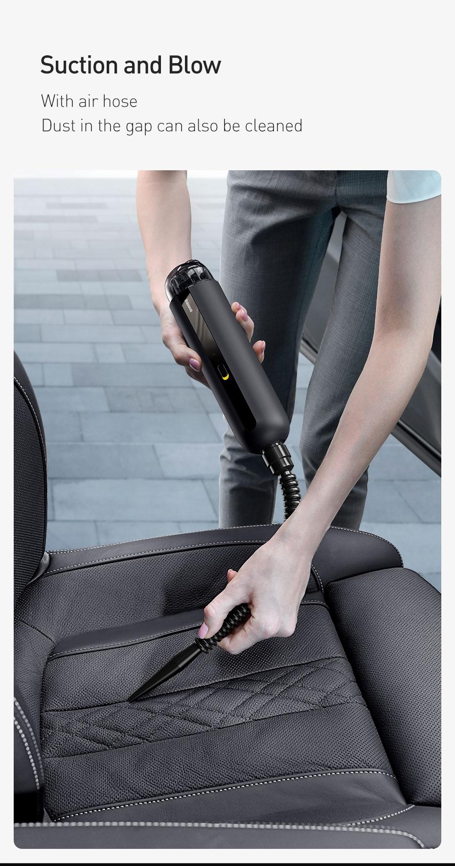 Wireless 5000Pa Car Vacuum Cleaner